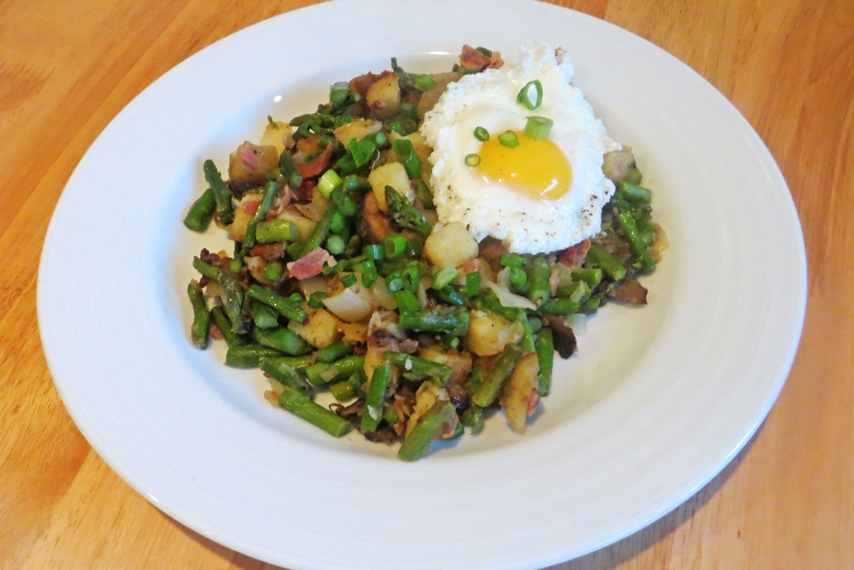 Not Quite Spring Hash | Garlic, My Soul