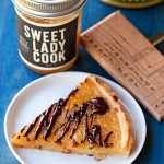 Meyer Lemon Marmalade & Chocolate Tart