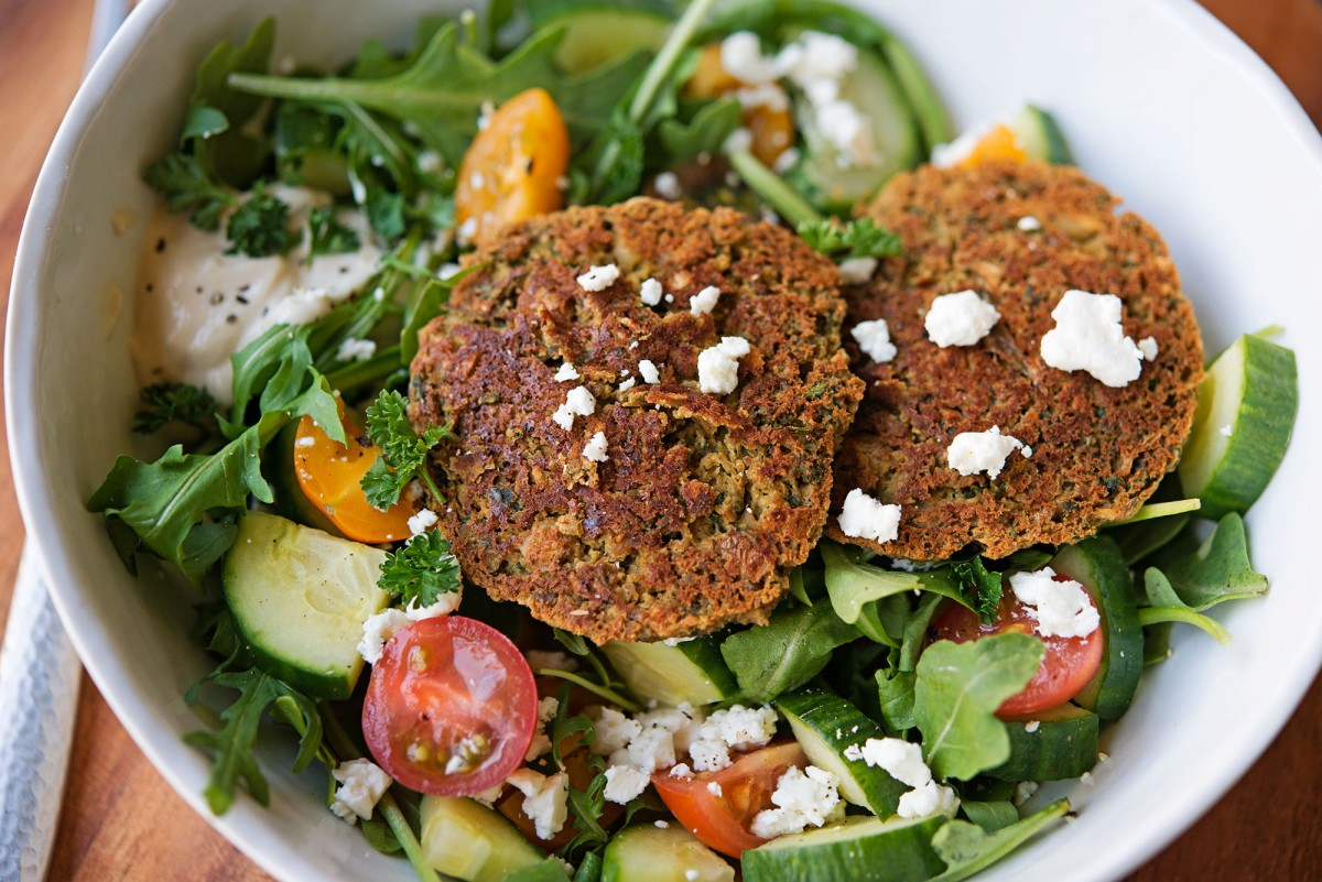 Falafel Salad | Garlic, My Soul