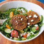 Falafel Salad for Springtime