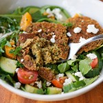 Throwback Thursday: Falafel Salad