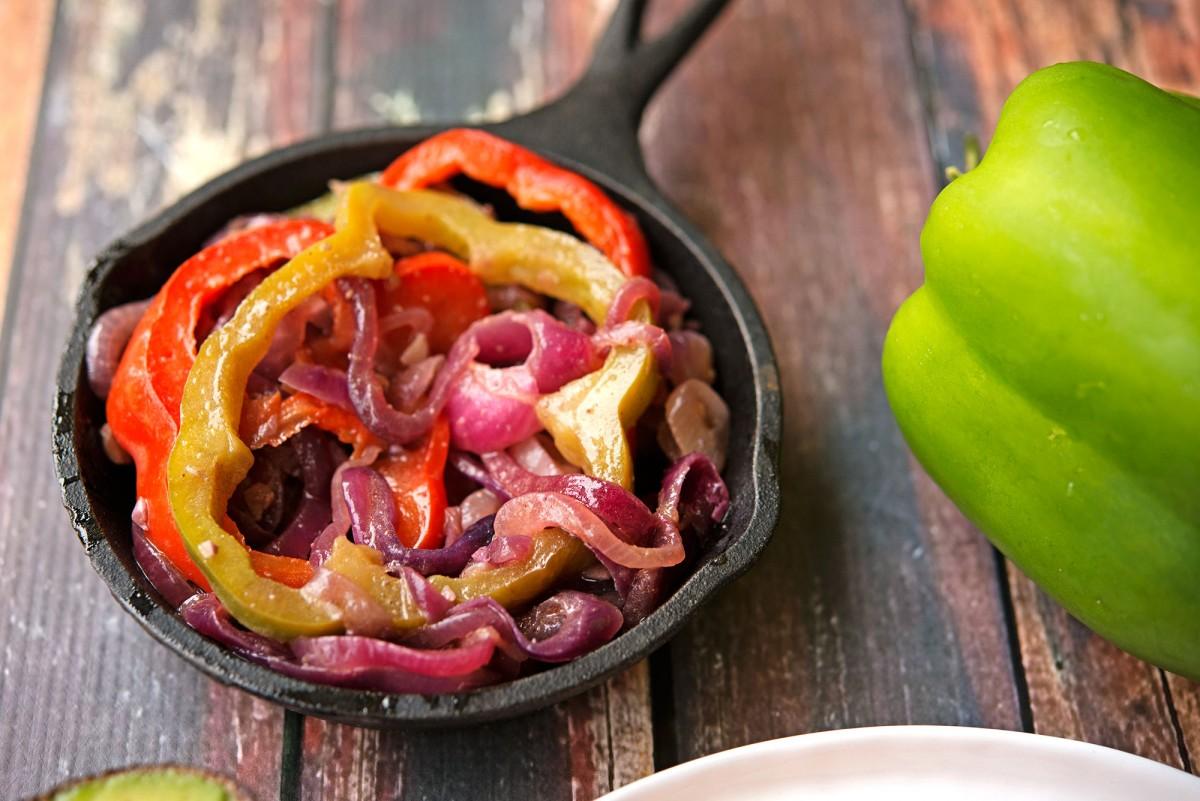 Steak Fajitas | Garlic, My Soul