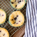 TBT: Blueberry Cobbler Muffins