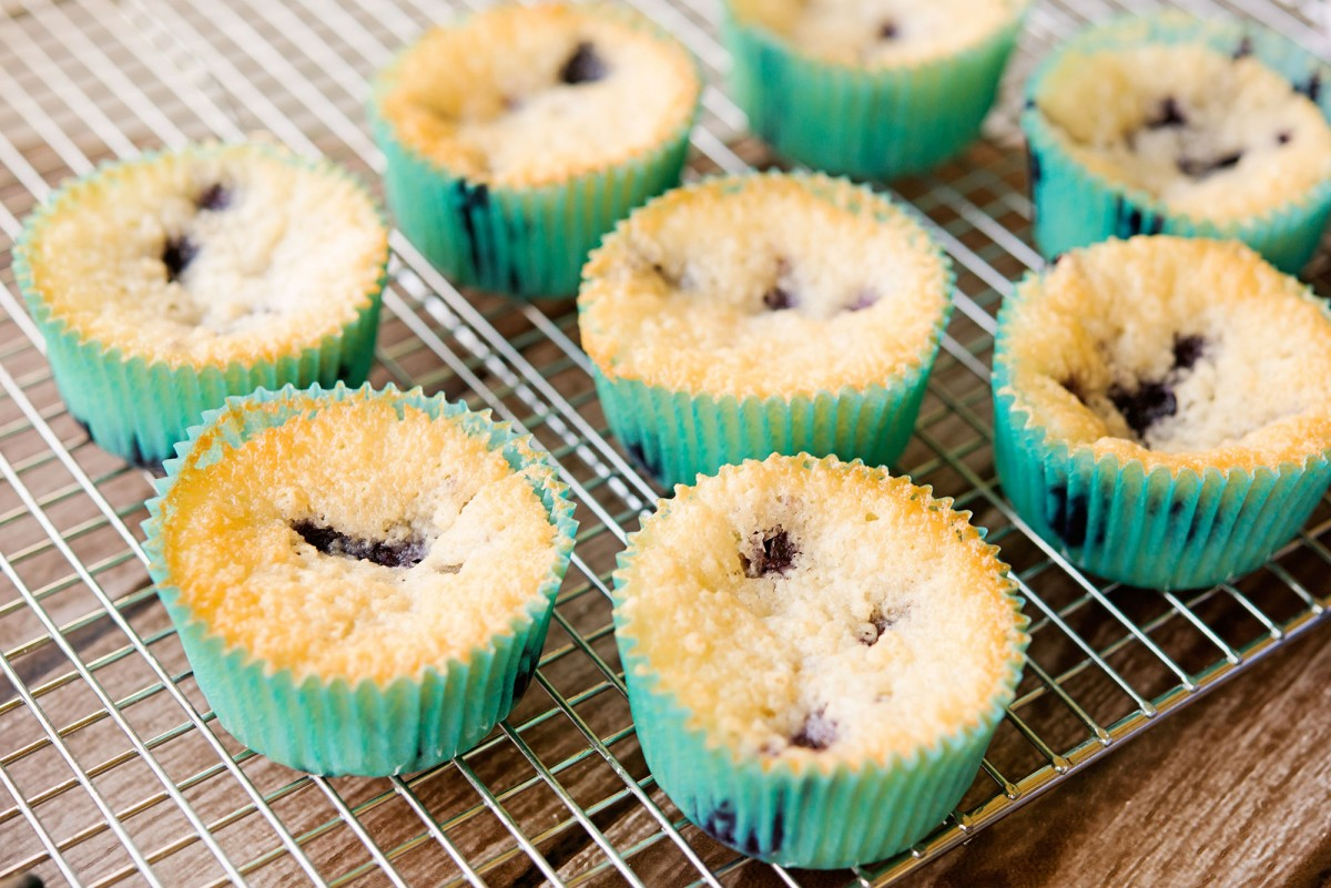 Blueberry Cobbler Muffins | Garlic, My Soul