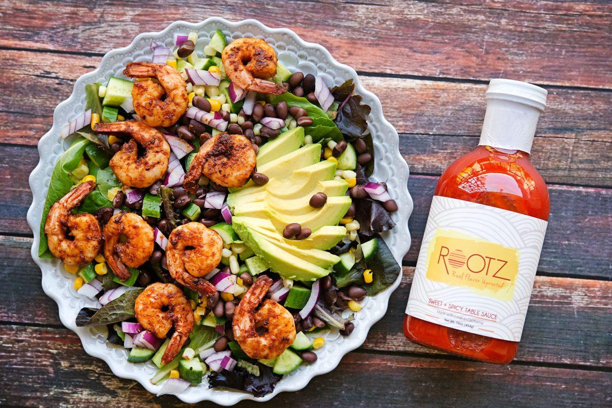 Barbecue Shrimp Salad | Garlic, My Soul