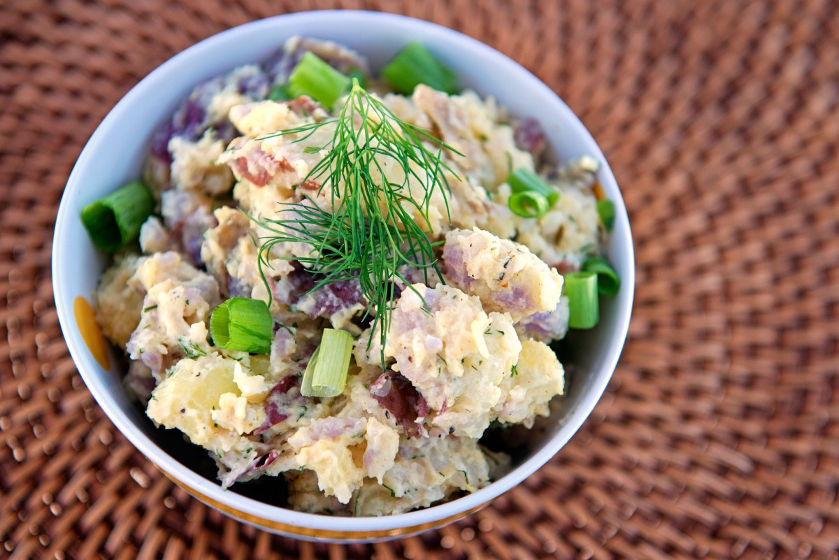 Potato Salad | Garlic, My Soul