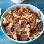Gluten Free Teff Porridge with Walnuts & Raisins