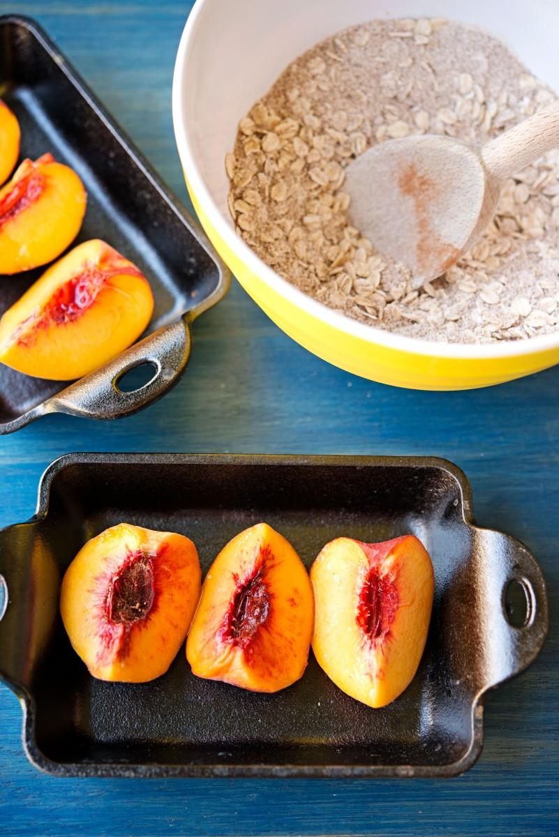 Tiny Peach Crisp | Garlic, My Soul
