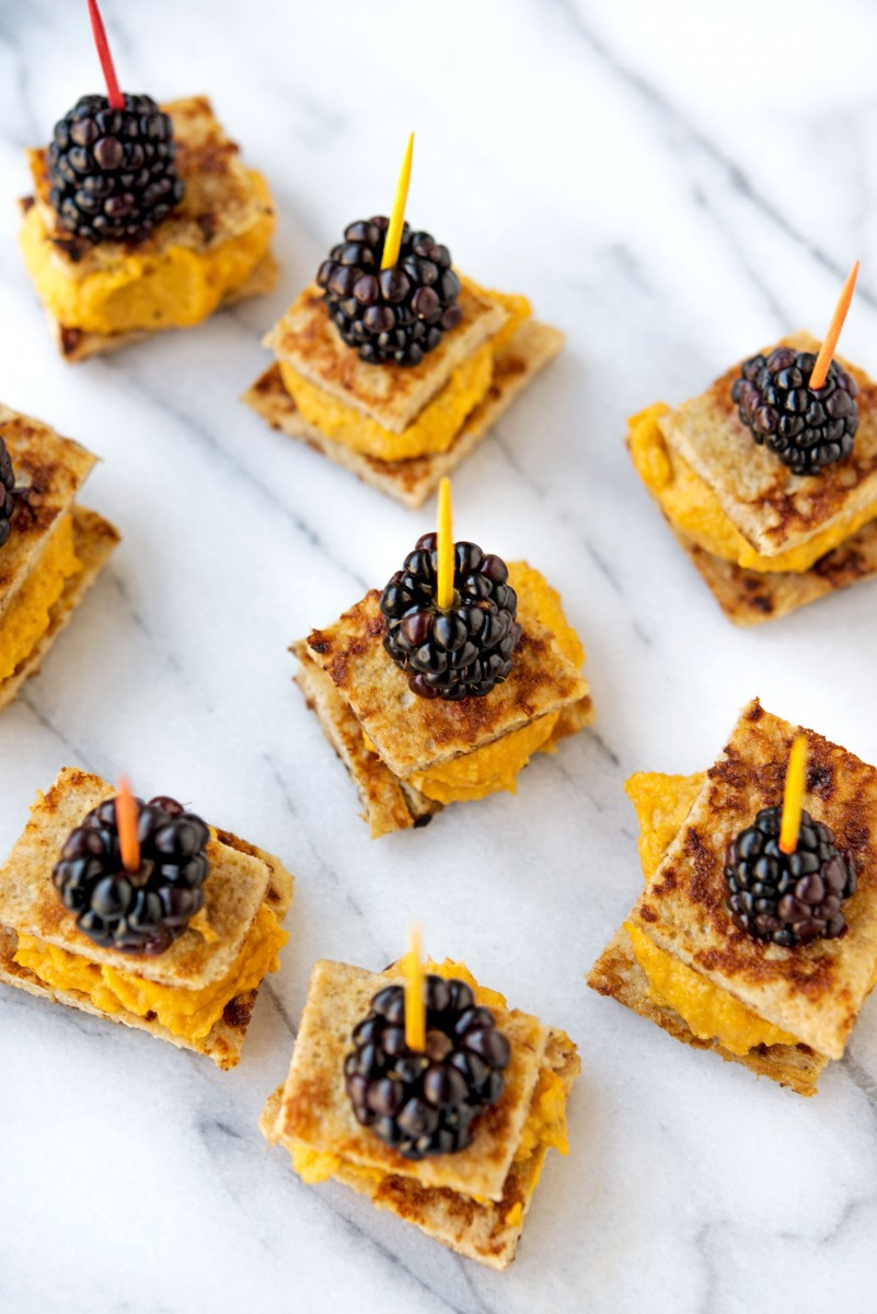 Pumpkin Blackberry Bites | Garlic, My Soul