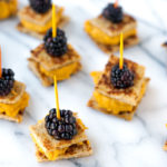 TBT: Pumpkin Cashew Butter Blackberry Bites
