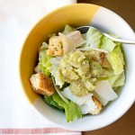 Spicy Mexican Chicken Caesar Salad
