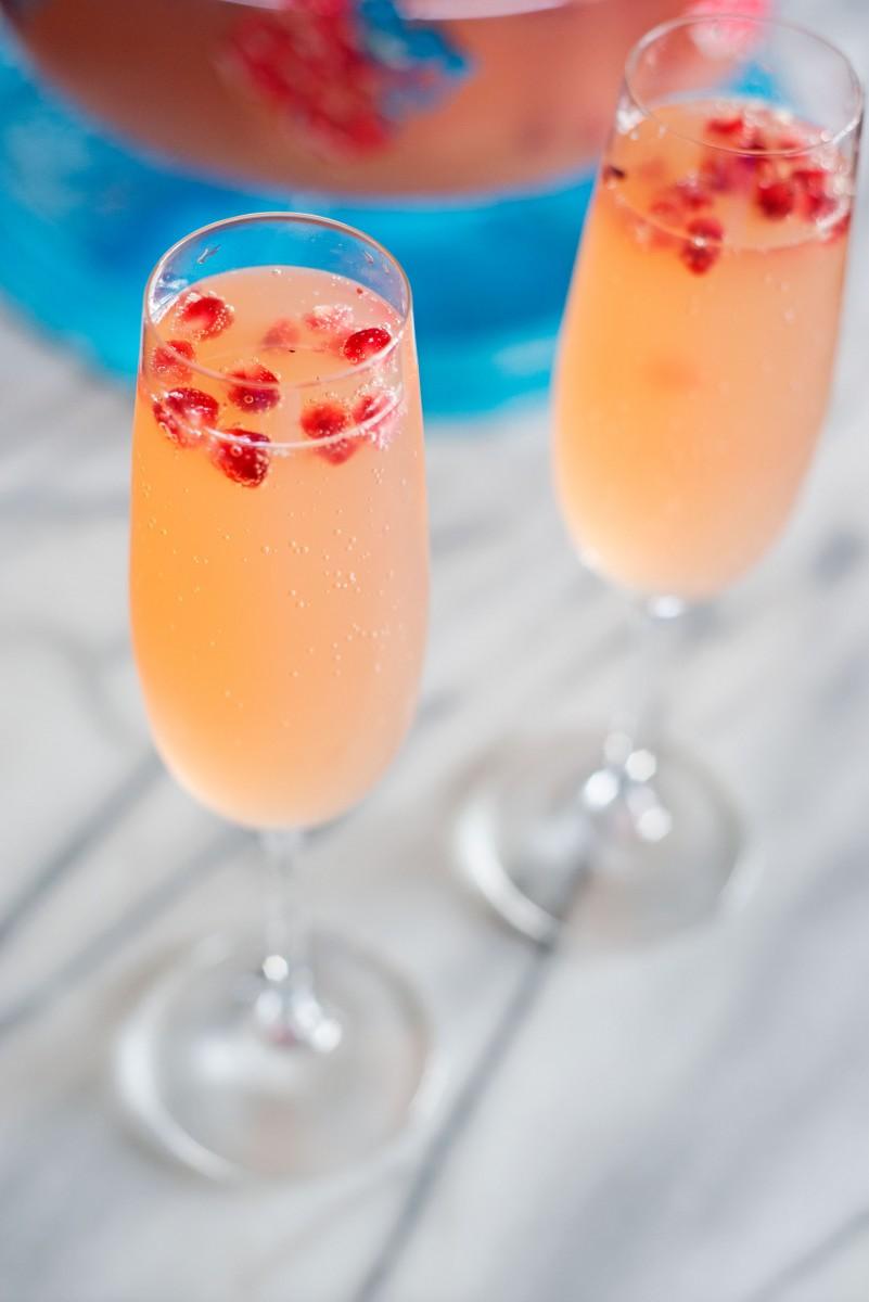 Apple Cider Champagne Punch | Garlic, My Soul