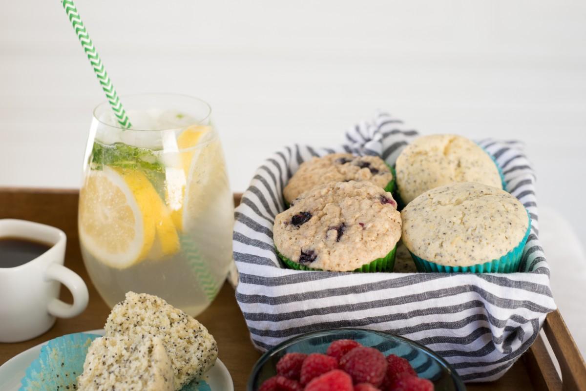 Breakfast in Bed | Muffins | Joie De Vivre Hotels | Garlic, My Soul