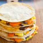 (Gluten Free) Breakfast Quesadillas