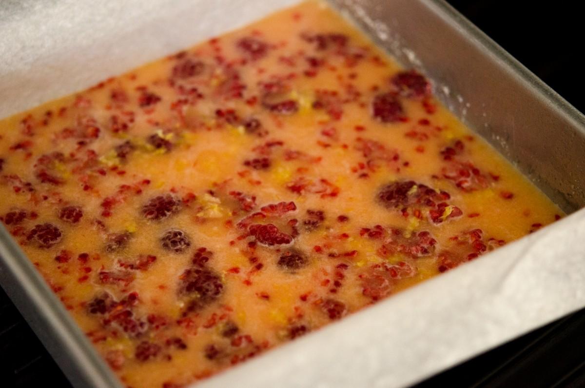 Lemon Raspberry Bars | Garlic, My Soul