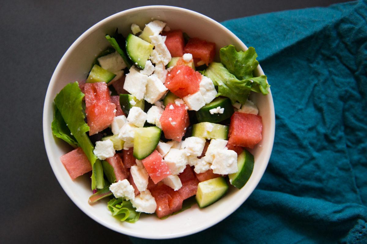 Watermelon Feta Salad | Garlic, My Soul