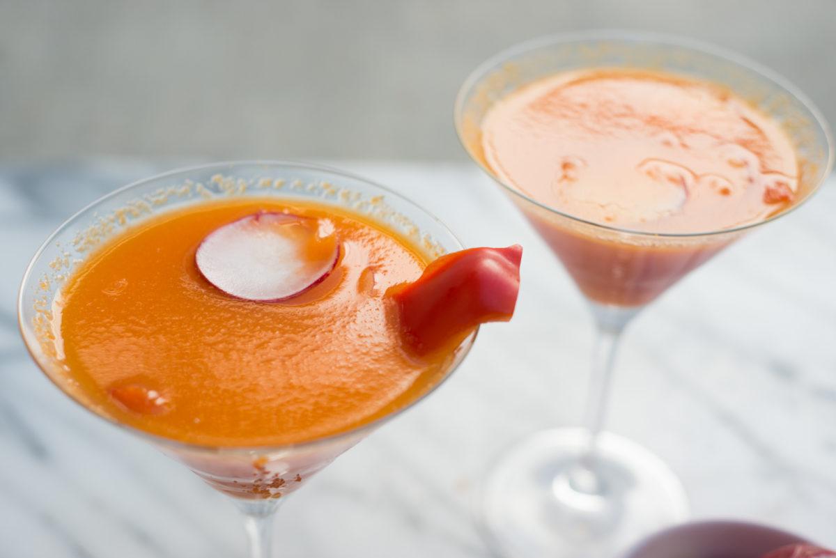 Pepper Radish Martini | Garlic, My Soul