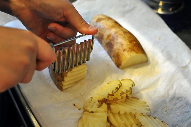 garlic my soul � take two waffle fries