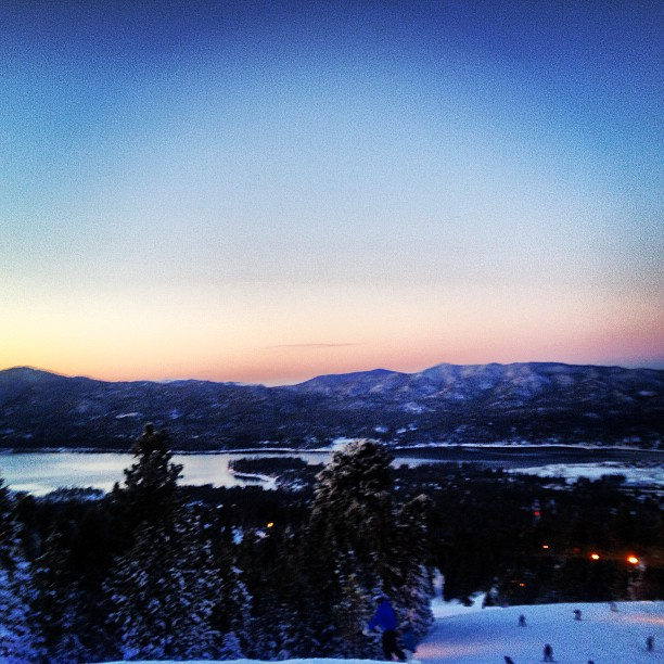2-11 Big Bear Sunset