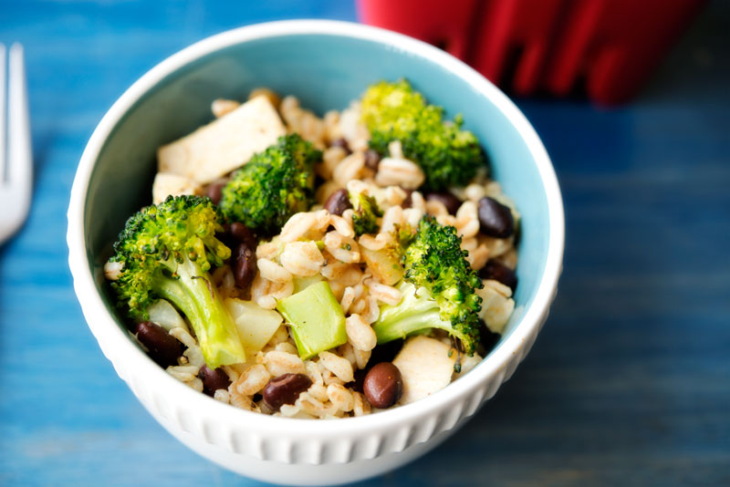 Farro Side Salad | Garlic, My Soul