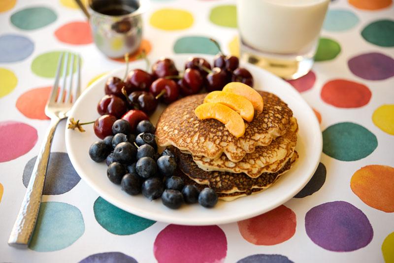 Apricot Gluten Free Pancakes | Garlic, My Soul