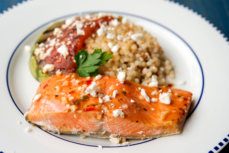 Chili-Lime Salmon | Garlic, My Soul