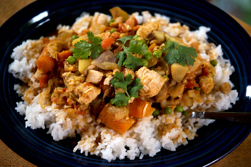 Slow Cooker Chicken Curry | Garlic, My Soul
