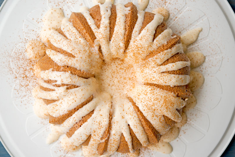 Pumpkin Spice Cake | Garlic, My Soul