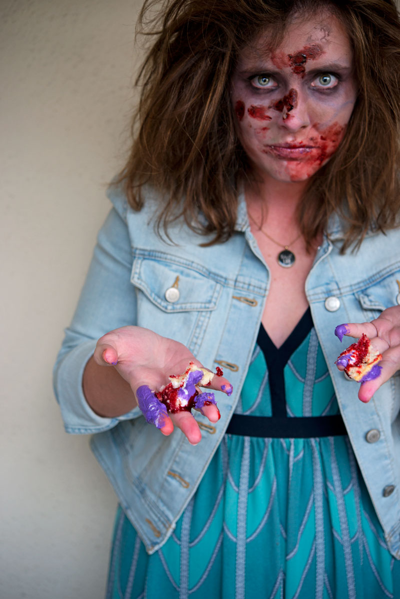 Garlic My Soul | Zombie Halloween Cupcakes