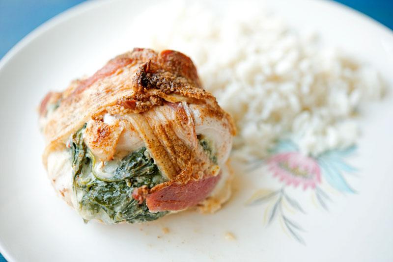 GF Bacon Wrapped Chicken   Garlic, My Soul