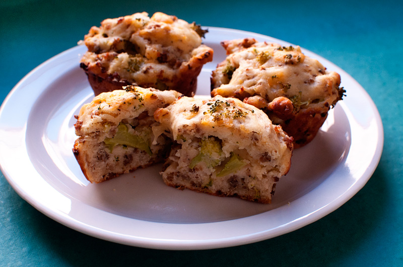 Garlic My Soul | Savory Breakfast Muffins