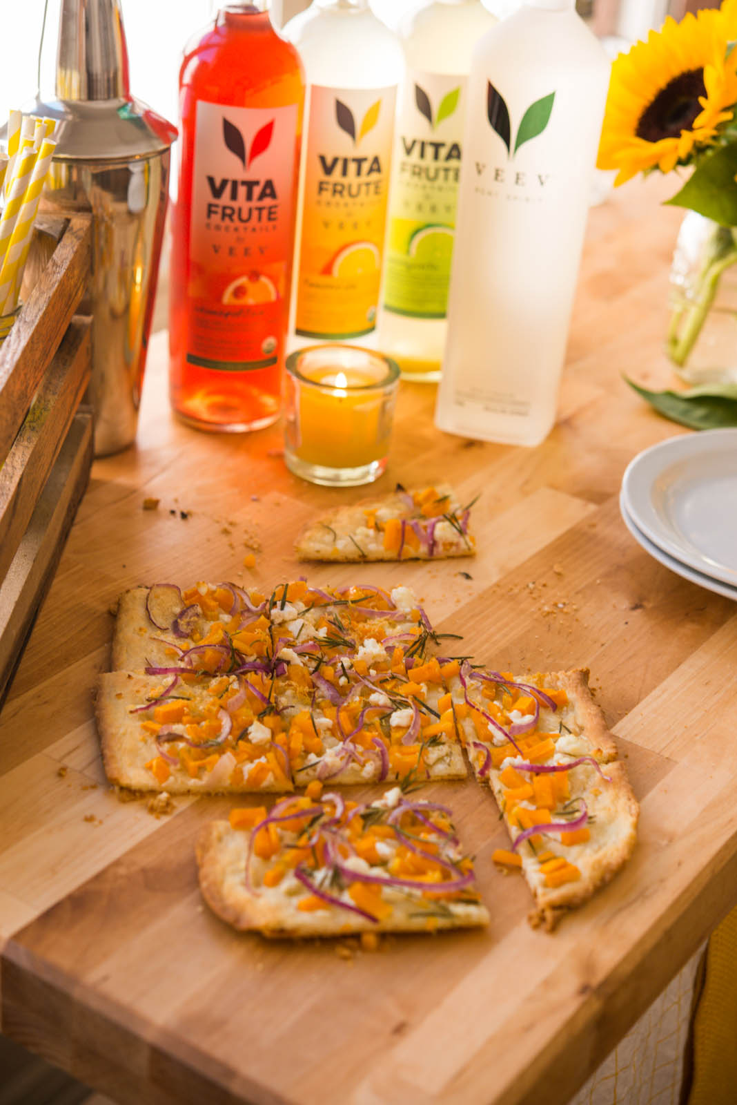 VeeV Spirits | Veggie Fall Tarts | Garlic, My Soul