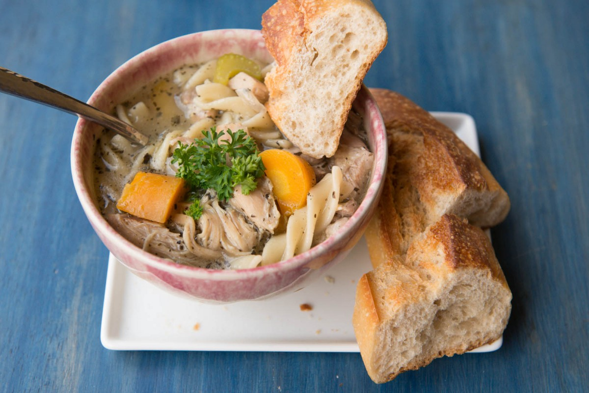 Chicken Noodle Soup | Garlic, My Soul