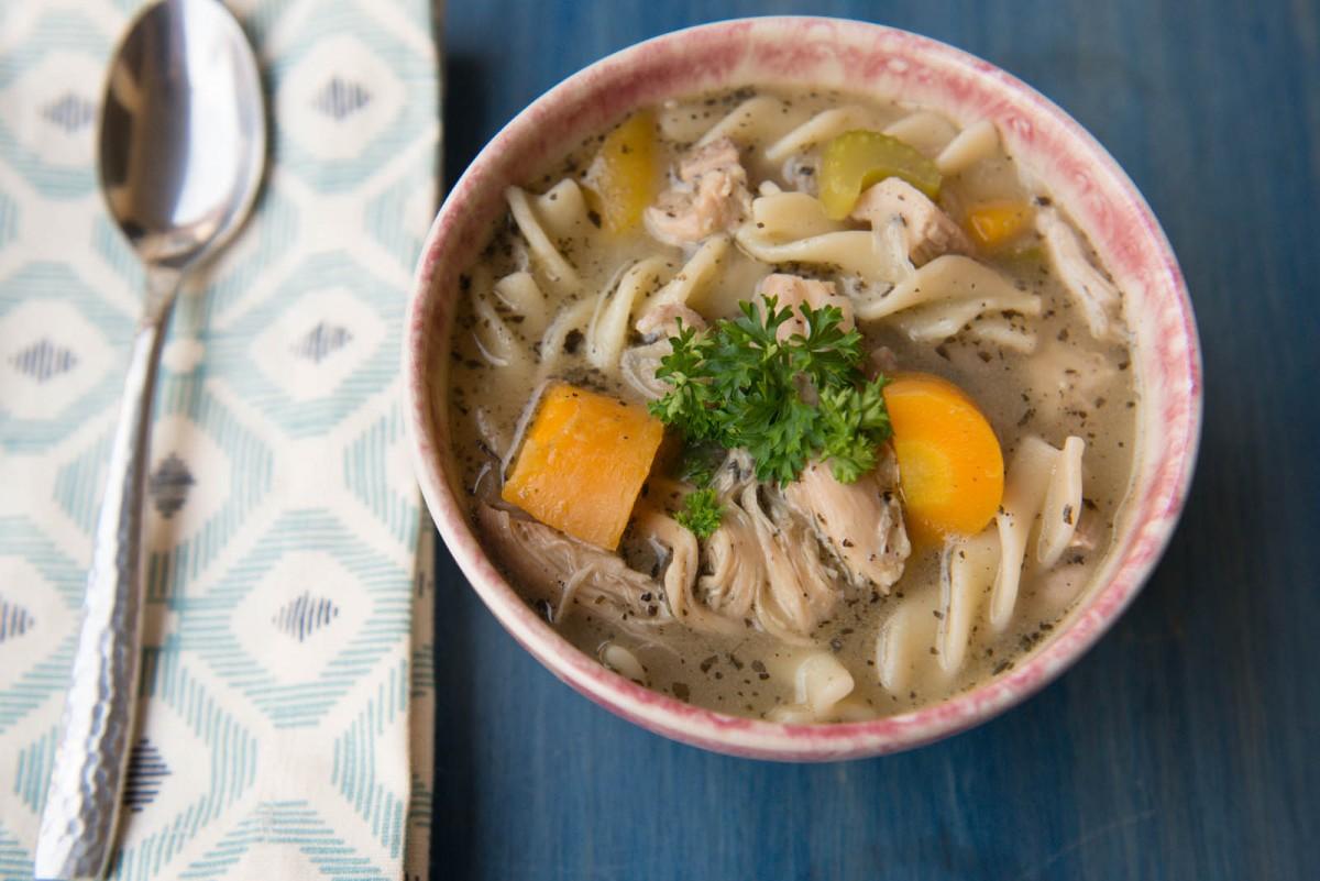 Chicken Noodle Soup | Garlic, My Soul