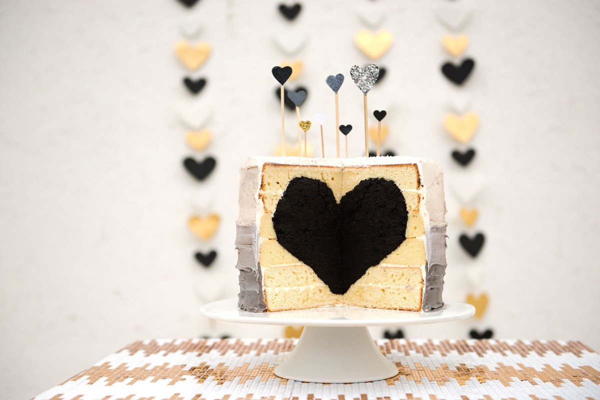 Black Heart Cake | Garlic, My Soul