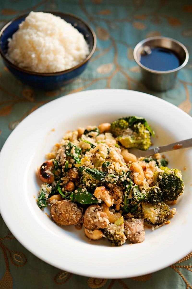 Cauliflower Fried Rice | Garlic, My Soul