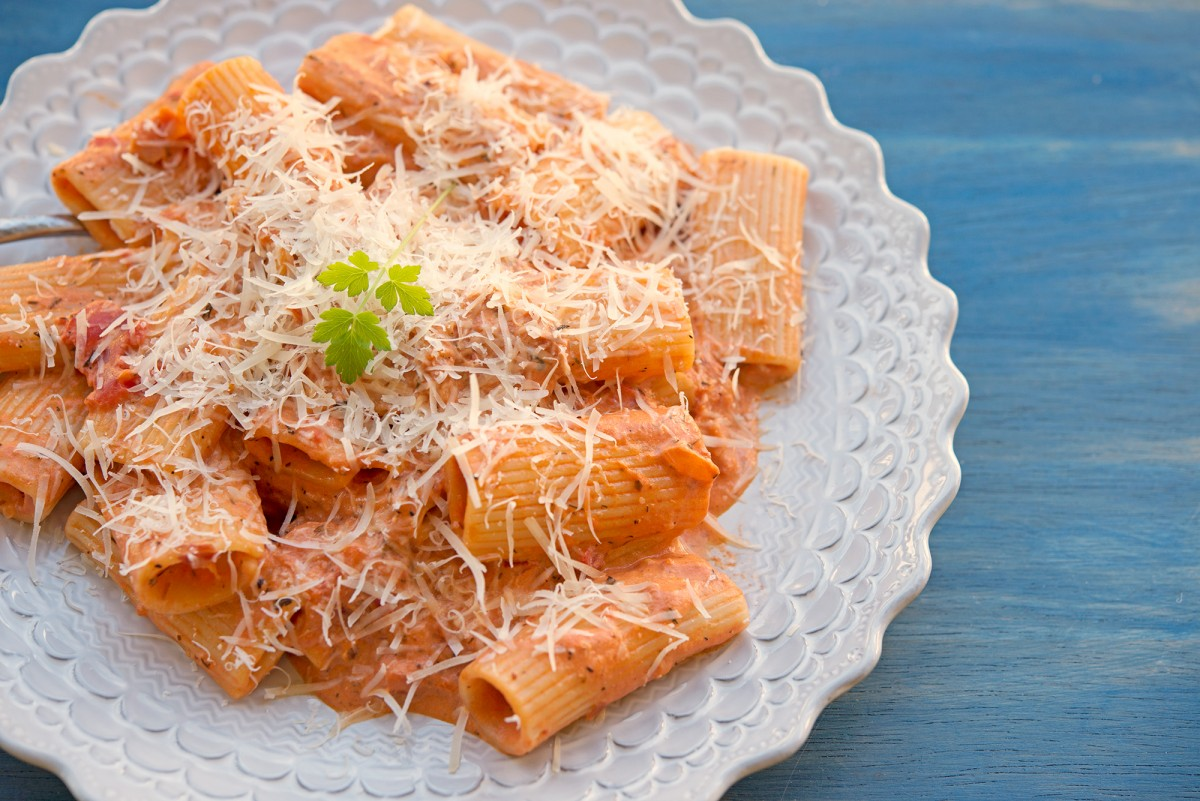 Vodka Rigatoni | Garlic, My Soul