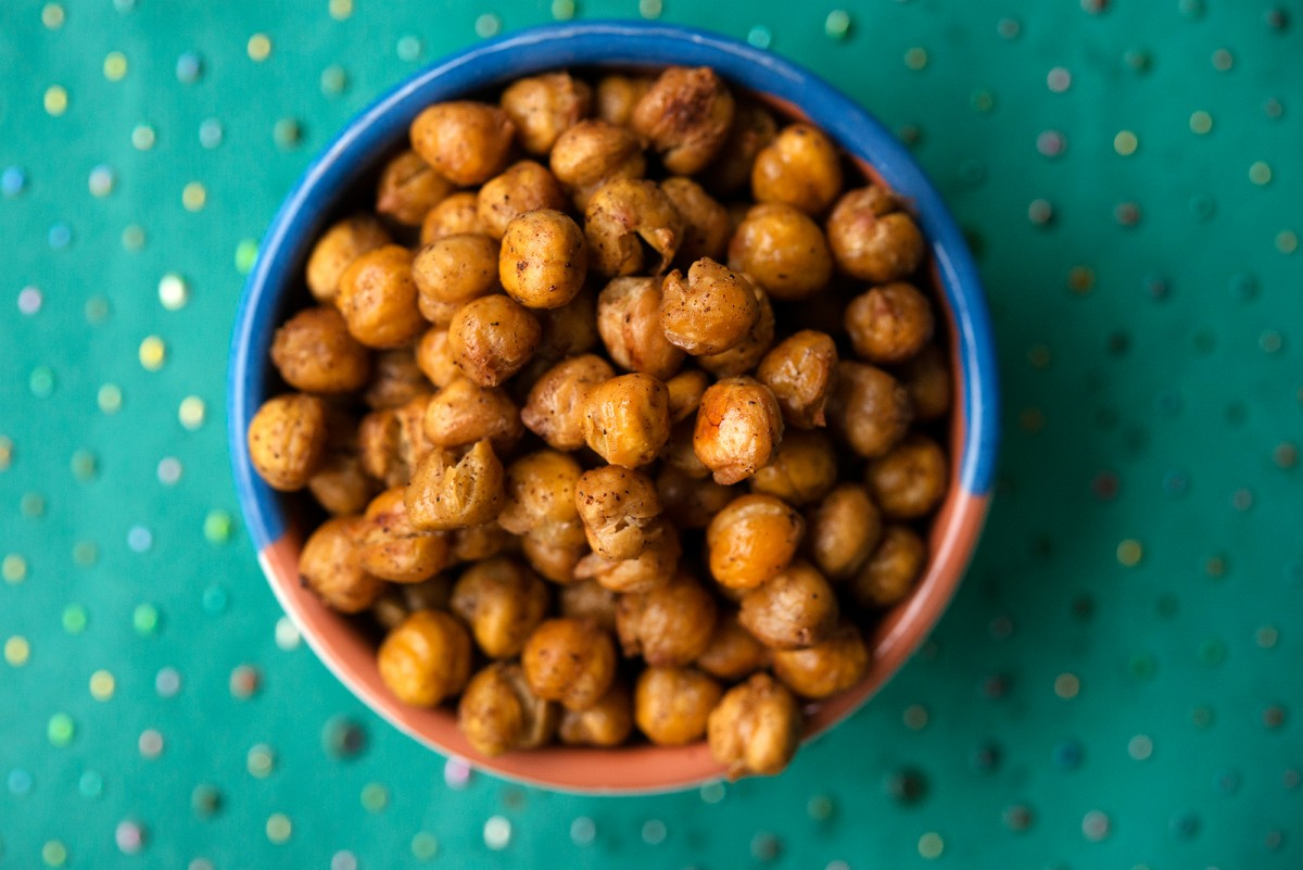 Roasted Chick Peas | Garlic, My Soul