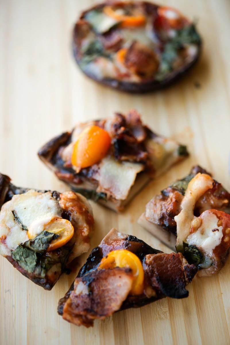 Portobello Mushroom Pizza | Garlic, My Soul
