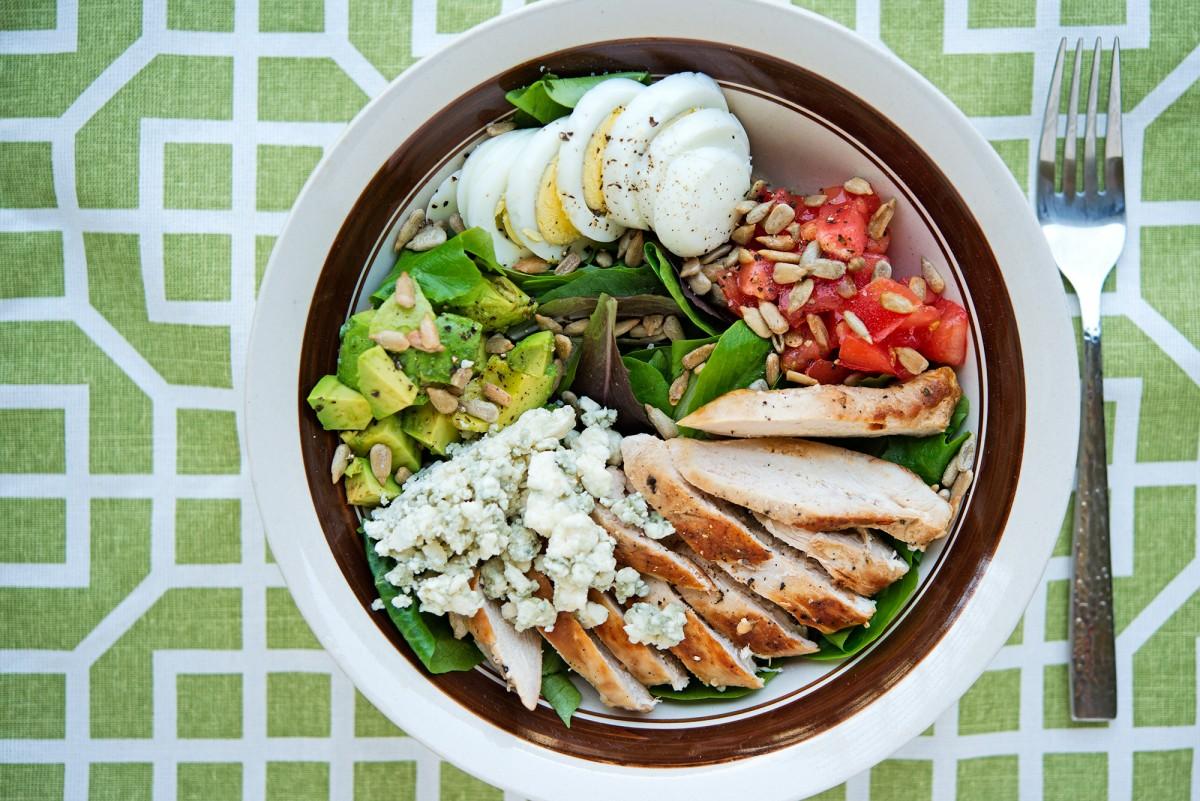 GMS Cobb Salad | Garlic, My Soul