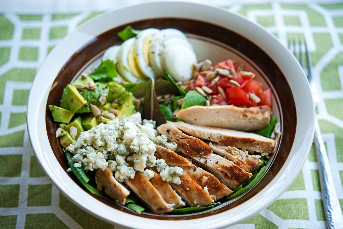 GMS Cobb Salad   Garlic, My Soul