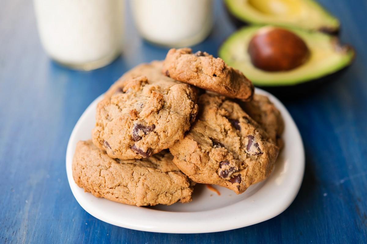 Chocolate Chip Avo Cookies | Garlic, My Soul