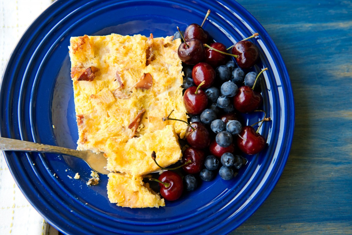 Breakfast Bread Pudding | Garlic, My Soul