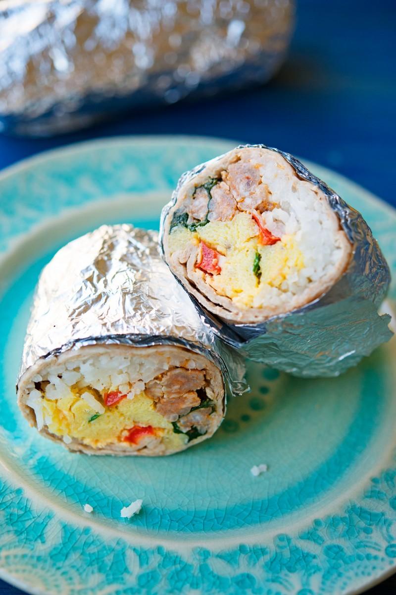 Breakfast Burritos | Garlic, My Soul