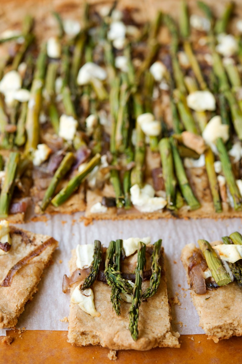 Asparagus & Goat Cheese Tart | Garlic, My Soul