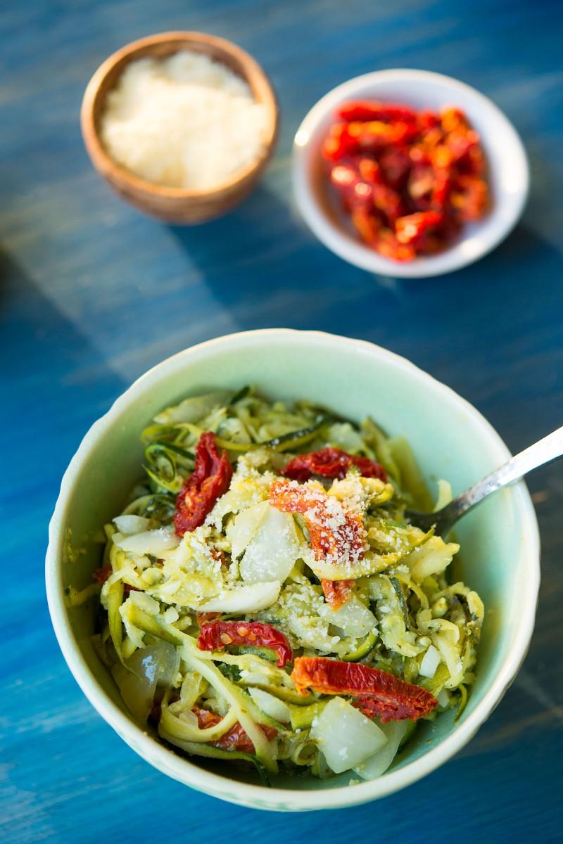 Zucchini Noodles | Garlic, My Soul
