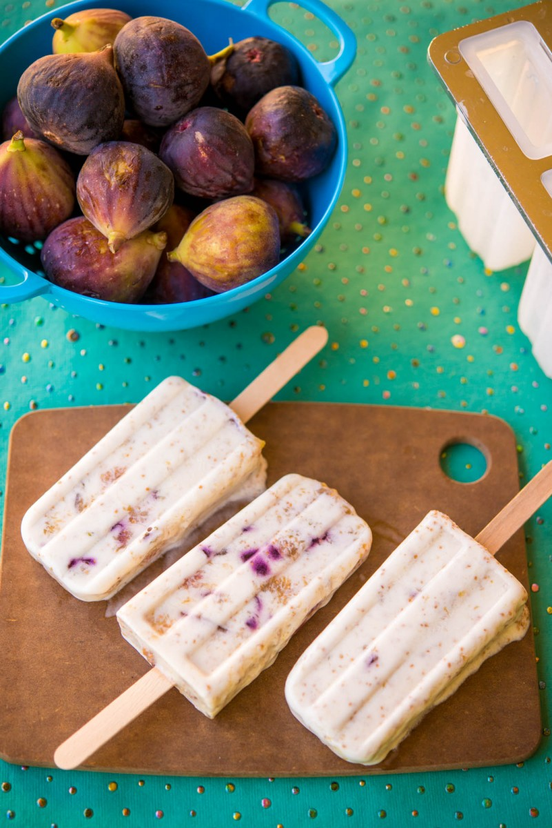 Fig & Coconut Popsicles | Garlic, My Soul