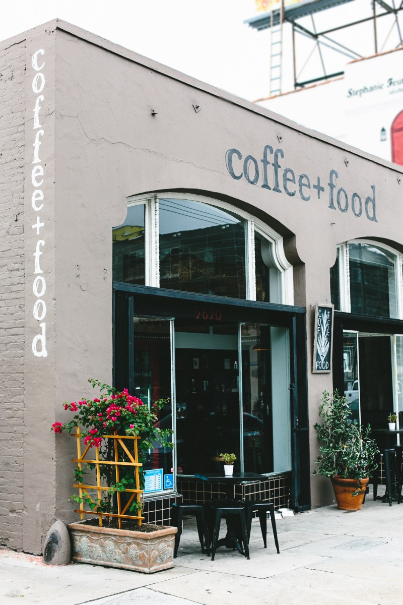 Mary Costa Photography for Garlic My Soul | Coffee + Food on Melrose | 001