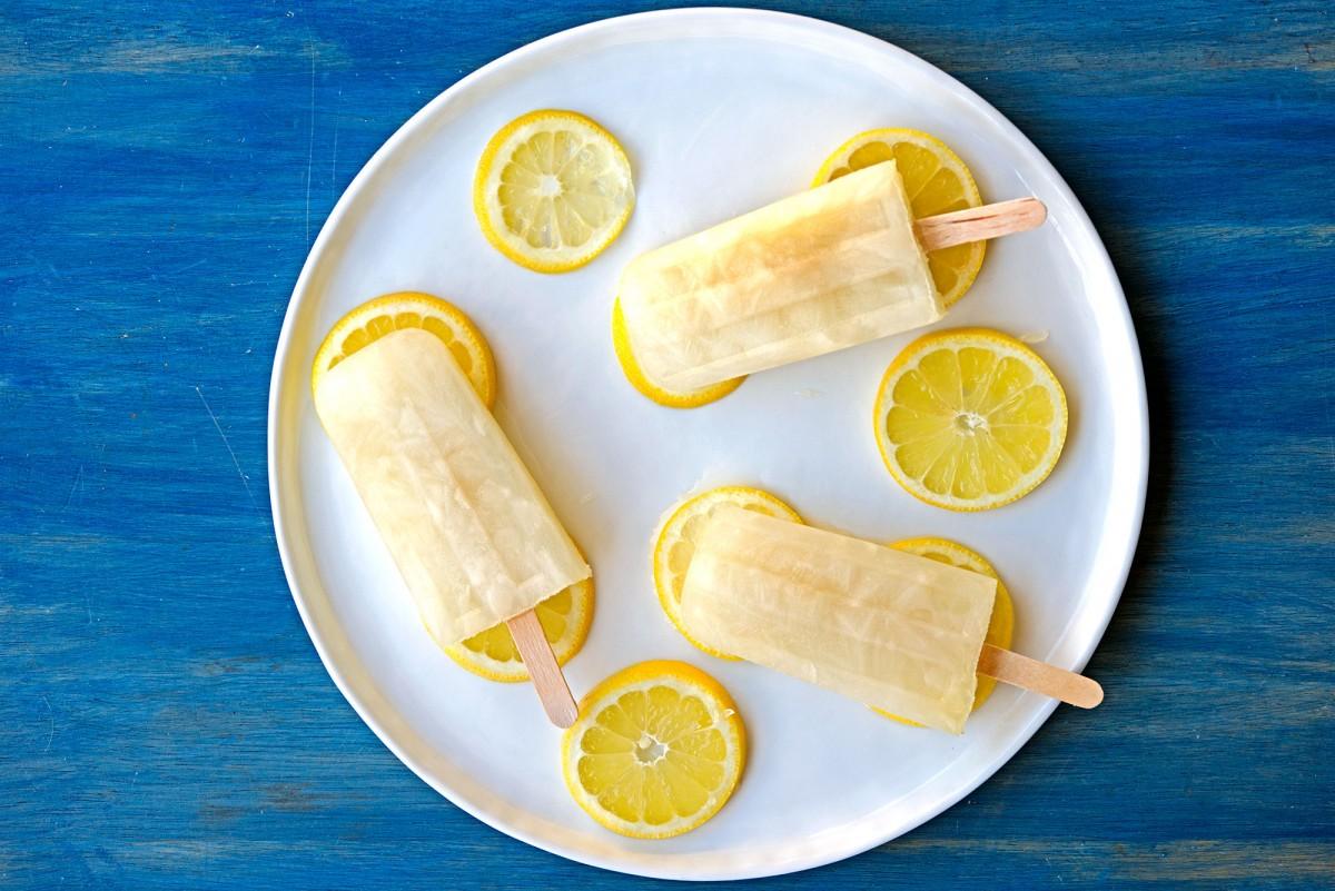 Lemon Lime Popsicles | Garlic, My Soul