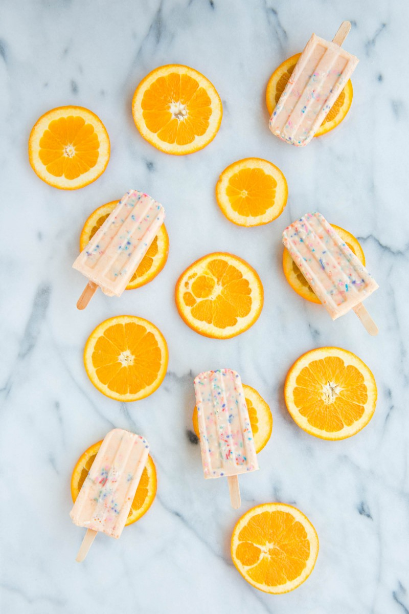 Funfetti Creamsicles | Studio DIY & Garlic, My Soul